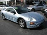 2003 Steel Blue Pearl Mitsubishi Eclipse GS Coupe #44867324
