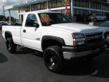 2006 Summit White Chevrolet Silverado 3500 Regular Cab 4x4 #44867327