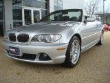 2004 Titanium Silver Metallic BMW 3 Series 330i Convertible #44866253