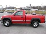 2001 Victory Red Chevrolet Silverado 1500 Regular Cab 4x4 #44890536