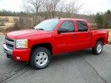 2011 Victory Red Chevrolet Silverado 1500 LT Crew Cab 4x4 #44901780