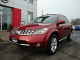 2007 Sunset Red Pearl Metallic Nissan Murano SL AWD #44901295