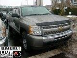 2009 Graystone Metallic Chevrolet Silverado 1500 LT Extended Cab 4x4 #44900055