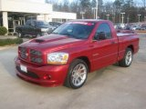 2006 Inferno Red Crystal Pearl Dodge Ram 1500 SRT-10 Regular Cab #44901524