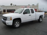 2011 Summit White Chevrolet Silverado 1500 LT Extended Cab #44901532