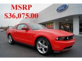 2011 Race Red Ford Mustang GT Premium Coupe #44901111