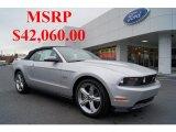 2011 Ingot Silver Metallic Ford Mustang GT Premium Convertible #44901112