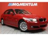 2009 Crimson Red BMW 3 Series 328i Sedan #44901547