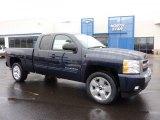 2011 Imperial Blue Metallic Chevrolet Silverado 1500 LT Extended Cab 4x4 #44901161