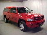 2001 Flame Red Dodge Ram 1500 SLT Club Cab 4x4 #44901579
