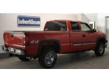 2003 Victory Red Chevrolet Silverado 2500HD LS Extended Cab 4x4 #44901597