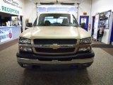 2004 Sandstone Metallic Chevrolet Silverado 1500 LS Crew Cab 4x4 #44901208