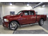 2011 Deep Cherry Red Crystal Pearl Dodge Ram 1500 ST Quad Cab 4x4 #44901212
