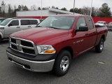 2011 Deep Cherry Red Crystal Pearl Dodge Ram 1500 ST Quad Cab 4x4 #44901757