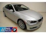 2008 Titanium Silver Metallic BMW 3 Series 328i Coupe #44901233