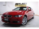 2008 Crimson Red BMW 3 Series 328xi Coupe #44901012