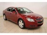 2008 Red Jewel Tint Coat Chevrolet Malibu LT Sedan #44957394
