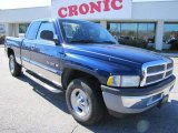 2001 Patriot Blue Pearl Dodge Ram 1500 SLT Club Cab #44955950