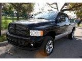 2002 Black Dodge Ram 1500 SLT Plus Quad Cab 4x4 #44955969
