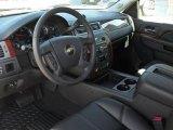 2011 Chevrolet Silverado 1500 LTZ Crew Cab Ebony Interior