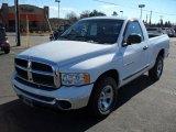 2005 Bright White Dodge Ram 1500 ST Regular Cab #44957662