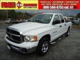 2004 Bright White Dodge Ram 1500 SLT Quad Cab #44957692