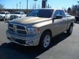 2011 White Gold Dodge Ram 1500 Big Horn Quad Cab 4x4 #44958085