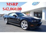 2011 Ebony Black Ford Mustang GT Premium Convertible #44955682
