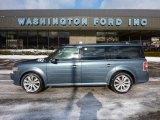 2010 Steel Blue Metallic Ford Flex SEL EcoBoost AWD #44956385