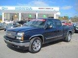 2005 Dark Blue Metallic Chevrolet Silverado 1500 LS Extended Cab #44956481