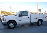 2004 Oxford White Ford F250 Super Duty XL Regular Cab Chassis #44956810
