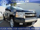 2008 Dark Blue Metallic Chevrolet Silverado 1500 LT Extended Cab #44960429