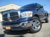 2008 Patriot Blue Pearl Dodge Ram 1500 Lone Star Edition Quad Cab #45034141