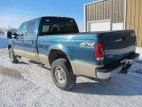 2001 Ford F250 Super Duty Island Blue Metallic