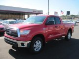 2011 Radiant Red Toyota Tundra SR5 Double Cab 4x4 #45034797