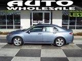 2009 Glacier Blue Metallic Acura TSX Sedan #45035022