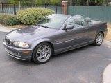 2002 Steel Grey Metallic BMW 3 Series 330i Convertible #45034504