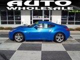 2009 Monterey Blue Nissan 370Z Coupe #45035042