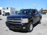 2009 Black Chevrolet Silverado 1500 LTZ Extended Cab 4x4 #45034526