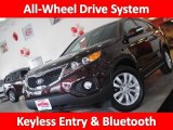 2011 Dark Cherry Kia Sorento EX AWD #45034590