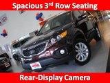 2011 Dark Cherry Kia Sorento LX V6 AWD #45034594