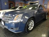 2009 Blue Diamond Tri-Coat Cadillac CTS Sedan #45034124