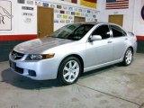 2005 Satin Silver Metallic Acura TSX Sedan #4498974
