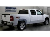 2011 Summit White Chevrolet Silverado 1500 LTZ Crew Cab 4x4 #45104311