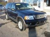 2004 Ford Explorer Dark Blue Pearl Metallic
