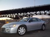 2003 Ice Silver Pearlcoat Chrysler Sebring LX Coupe #45103941