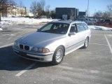 2000 Titanium Silver Metallic BMW 5 Series 528i Wagon #45104388