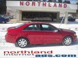 2008 Vivid Red Metallic Lincoln MKZ Sedan #45103705