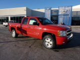 2011 Victory Red Chevrolet Silverado 1500 LT Extended Cab 4x4 #45103764