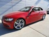 2009 Crimson Red BMW 3 Series 335i Convertible #45103193